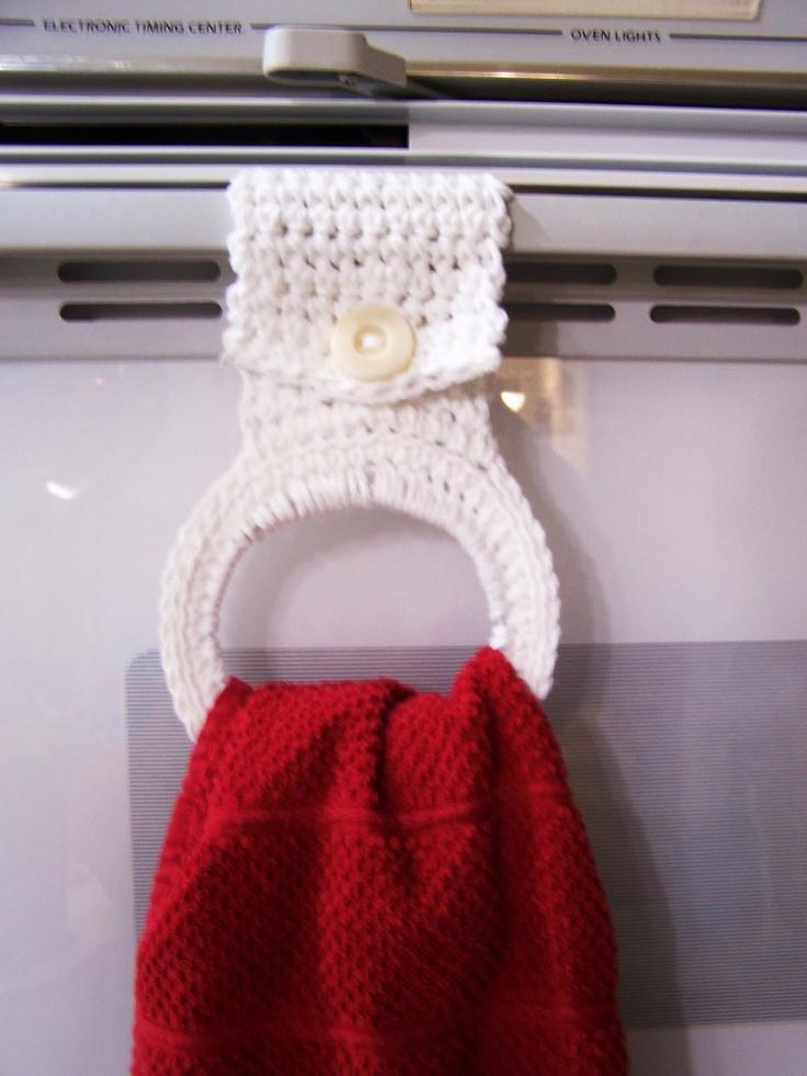67 Best Crochet Towel Topper Images On Pinterest Dish Towels