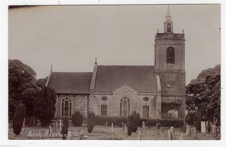 NORFOLK, NORTH RUNCTON, THE CHURCH, RP | eBay