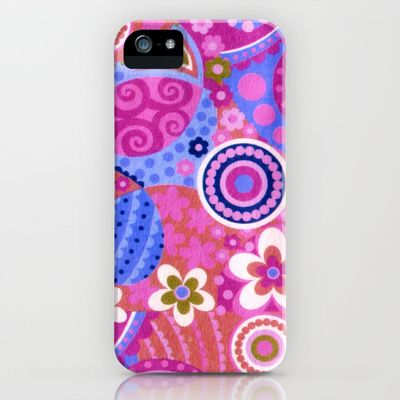Love these colors and designs! #phonecase #pastel #spring Spring Colors iPhone & iPod Case by Elena Indolfi - $35.00