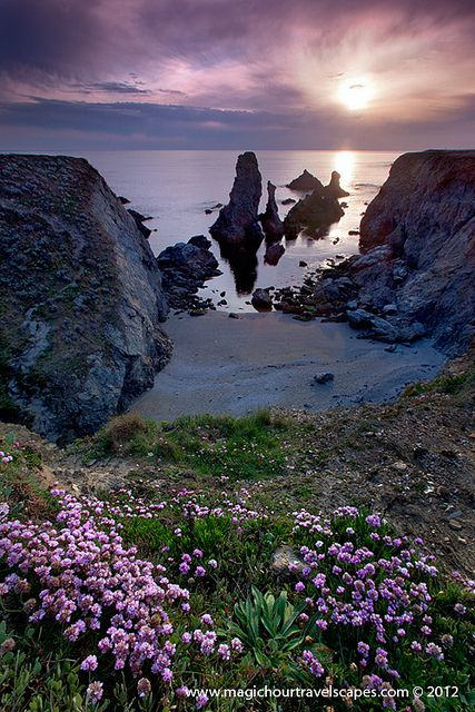 Beautiful Belle-Ile-En-Mer in Brittany