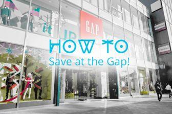 6 Incredible Ways to Save at the Gap: Part 2