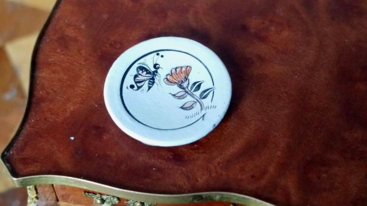 Theresa Wildflower - Native American pottery plate