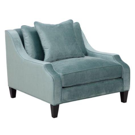 Gallerie - Brighton Chair - Aquamarine  Furniture/Accessories  Pi ...