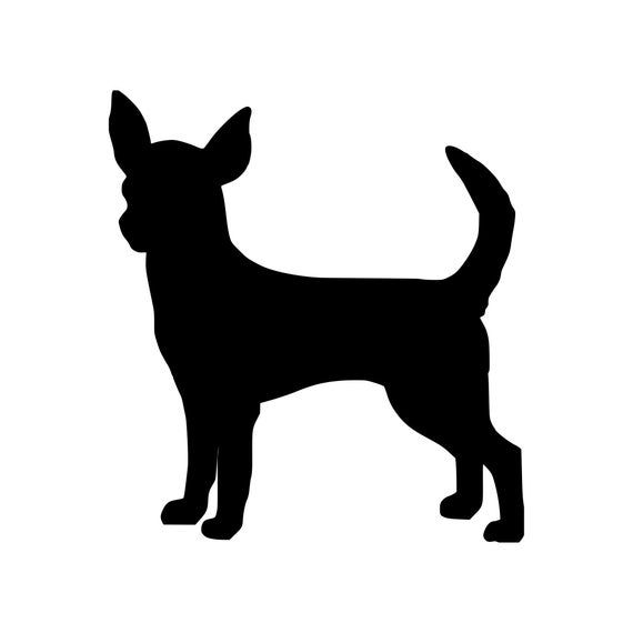 Chihuahua Vinyl Sticker Apple Deer Head Teacup Dog Puppy Chi Etsy In 2020 Teacup Dogs Puppies Dogs And Puppies Tea Cup Dogs