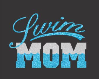 Swim Mom Shirt by TotallyTanks on Etsy