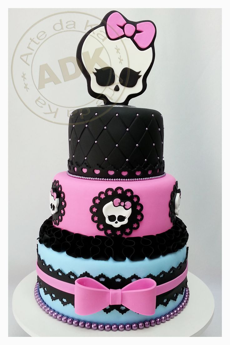 Monster High cake                                                                                                                                                     More