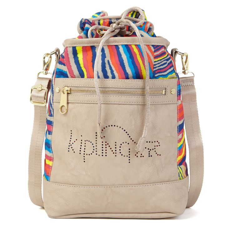 Kipling crossbody bag: Zebra Multi Creme Beige Combo !!