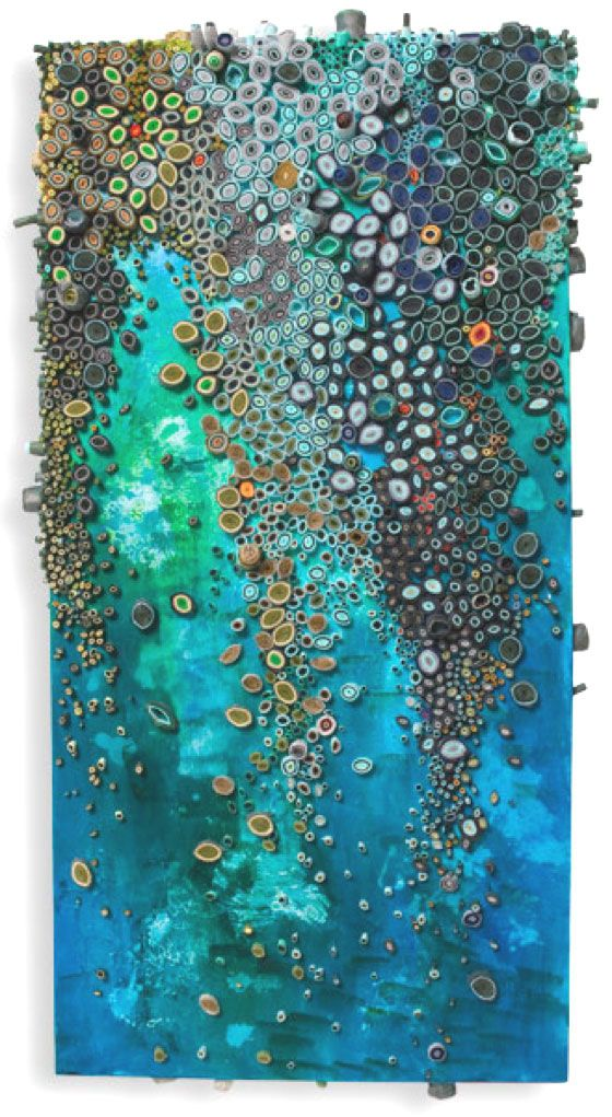 "patternprints journal: PAPER PATTERNS IN VERY BEAUTIFUL ""PAPER REEF"" BY AMY EISENFELD GENSER"