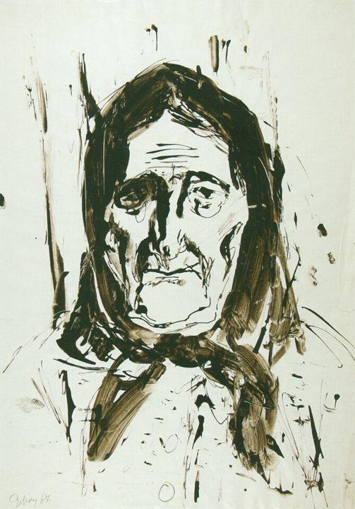 Музей рисунка - Евсей Евсеевич Моисеенко (1916-1988гг).