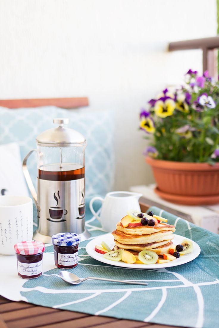 Śniadanie, przepisy, placki, fotografia kulinarna / breakfast, recipe, pancakes, slow food, food photography