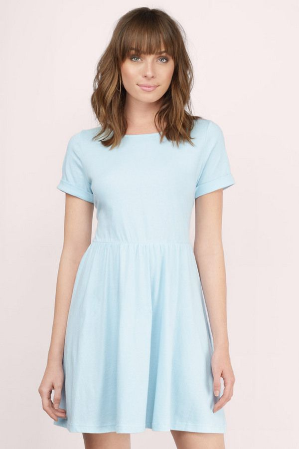 Daydreaming Skater Dress  at Tobi.com #shoptobi