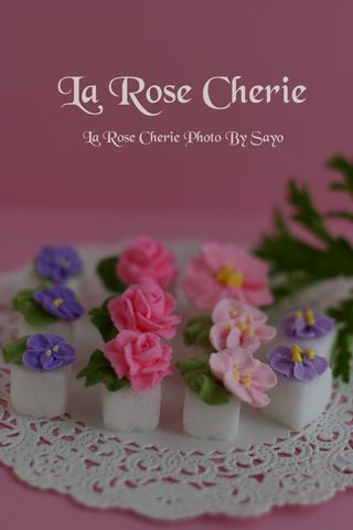 La Rose Cherie(ラ・ローズ・シェリー) デコレーション教室-角砂糖デコレーション