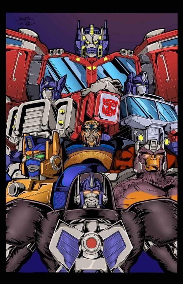 Gary Chalk As Optimus Prime Transformers Artwork Transformers Art Transformers Autobots
