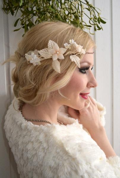 VINTAGE BRIDE - Elfenkrone WINTER WEDDING Hochzeit
