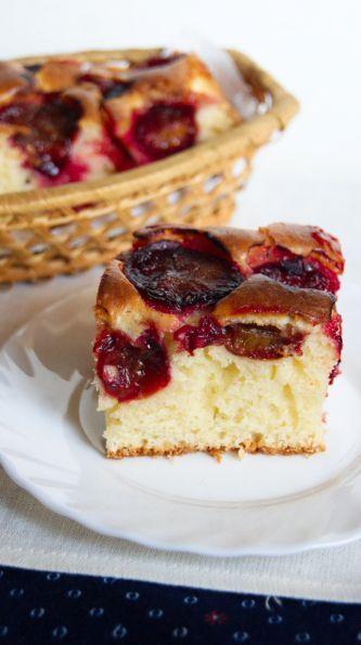 Заливной сливовый пирог - Рецепты с фото. Готовим дома