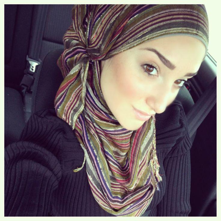 Hijab Tutorial #27, via YouTube.