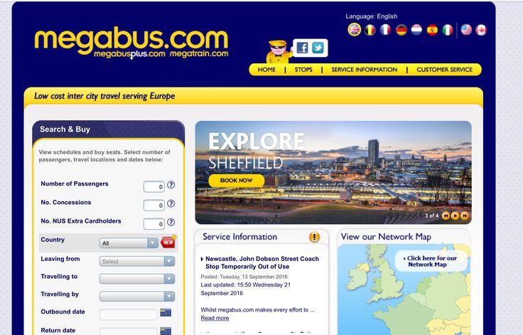 Best bus network to get around Europe: MegaBus