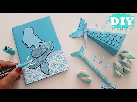 DIYs SEREIA   caneta, caderno e Caixa linda - YouTube