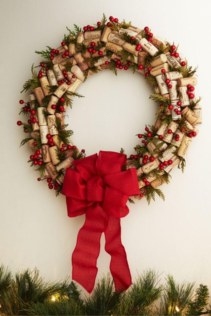 Pin By Wine Net On Wine In Design Wine Cork Wreath Wine Diy Crafts Wine Corks Decor