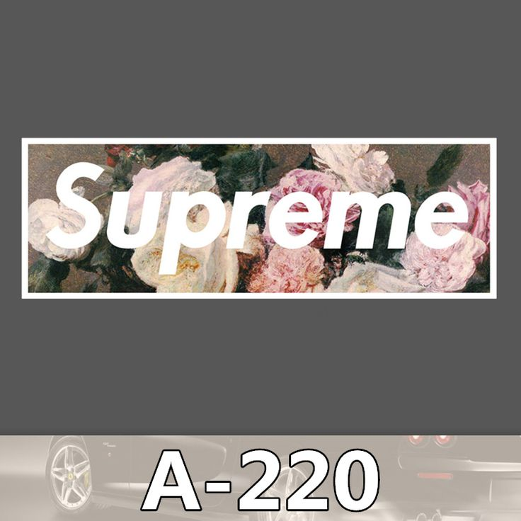 A-220 Supreme Waterproof DIY Stickers For Laptop Luggage Fridge Skateboard Car Graffiti Cartoon Stickers #clothing,#shoes,#jewelry,#women,#men,#hats,#watches,#belts,#fashion,#style