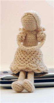 doll, free pattern: Free Dolls, Crochet Dolls, Crochet Angel, Russian Patterns, Cute Dolls, Knits Dolls, Free Patterns, Amigurumi Dolls, Dolls Patterns