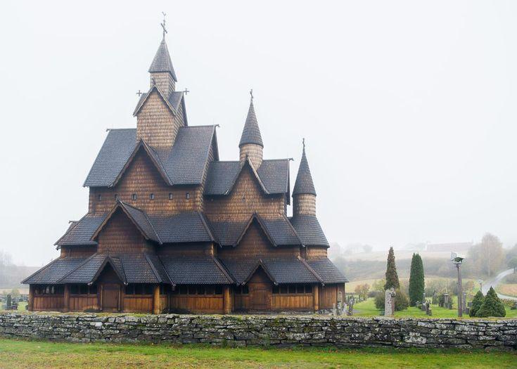Heddal Stave Church by Ole Morten Eyra