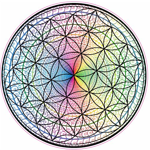 Get this Flower Of Life Rainbow Circle Sticker online at the U.S. Custom Stickers Decal Store. Shop for high quality stickers at cheap prices. Buy here.