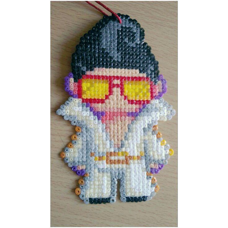 Elvis Presley hama beads