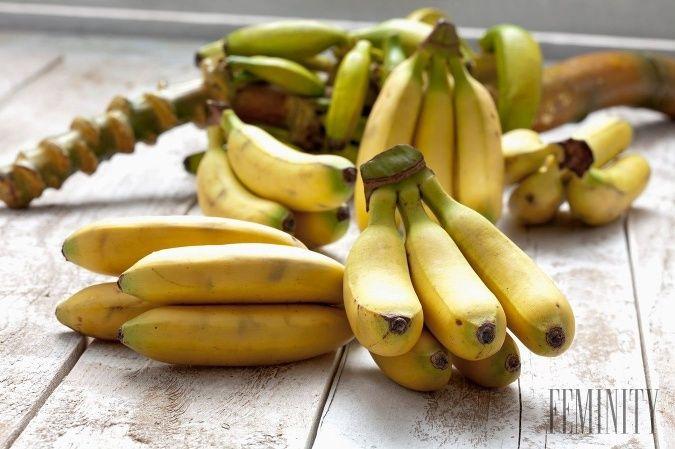 Pozitívne účinky banánov: Toto ovocie vplýva na naše zdravie viac ako sme si doteraz mysleli