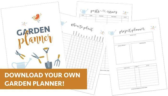 Garden Planner Spring Planting Layout Garden Planner Spring Planting Guide Planner