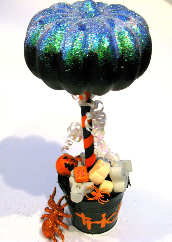 painted pumpkin rock craft pumpkin sweet tree made with a polystyrene 5060
