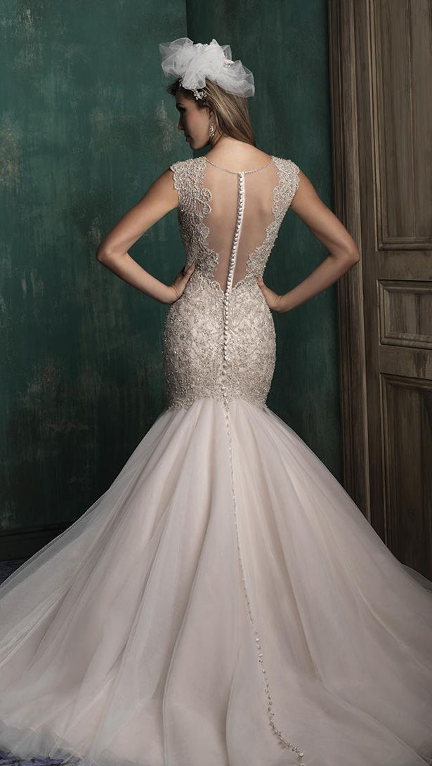 Allure Couture Fall 2015 Wedding Dress C343B