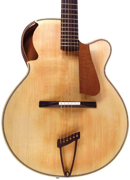 Parker Archtop #guitar  WANT. I mean...One of these would be very nice.