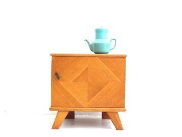 ≥ retro vintage nachtkastje kastje jaren 60 - Slaapkamer | Nachtkastjes - Marktplaats.nl