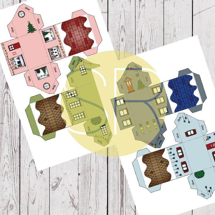 Paper Village Advent Calendar