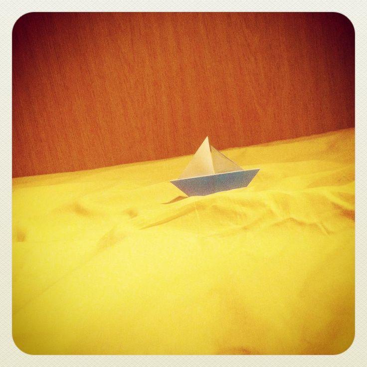 #sailboat #origami #paper #simple #love #cute #sea