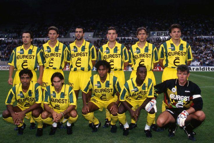 Nantes 1995 : les Canaris de Coco Retro // FC Nantes 1995 // Ce 27 mai 1995 - SO FOOT.com