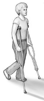 How to Use Crutches- OrthoInfo - AAOS