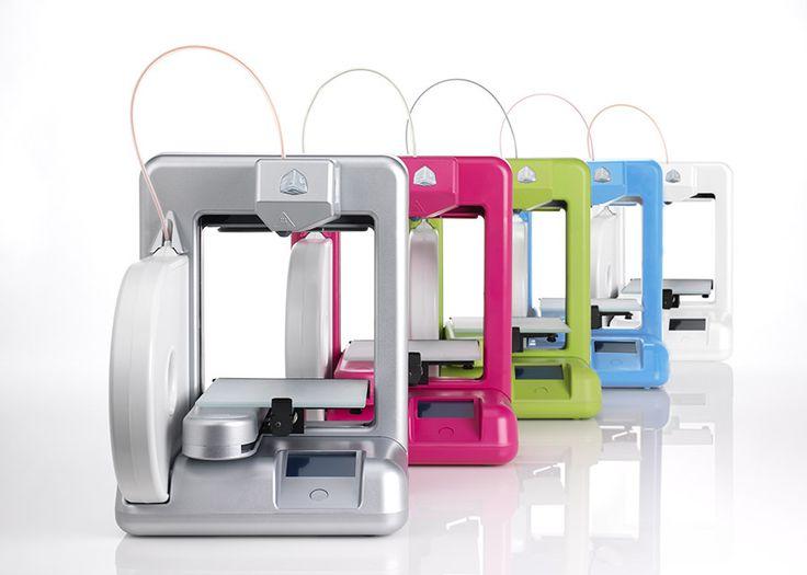 3D Systems new kid-safe, eco-friendly Cube 3D printer #CES 2013