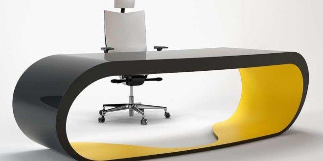 büromöbel mit design für moderne einrichtung von büroräumen mit designer schreibtisch schwarz und gelb - fresHouse