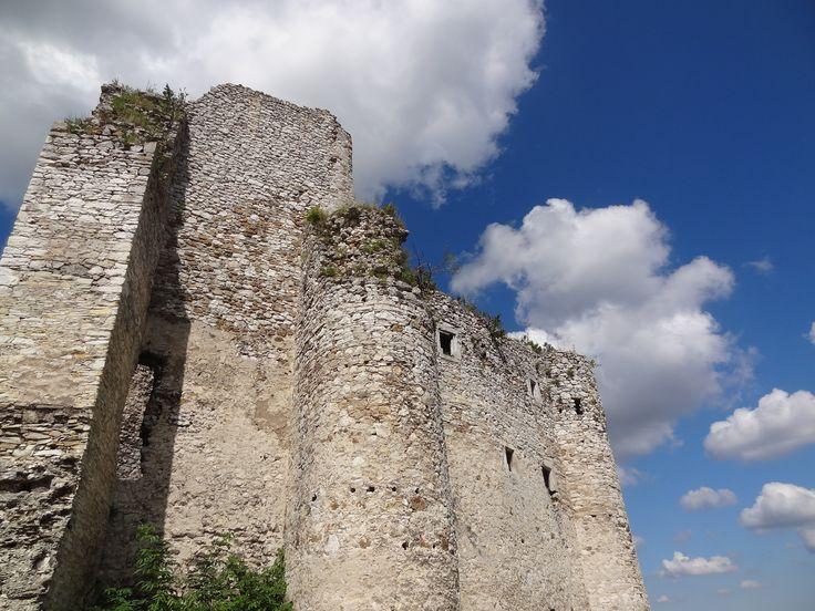 Zamek Mirów - widok od strony grzędy Mirowskiej