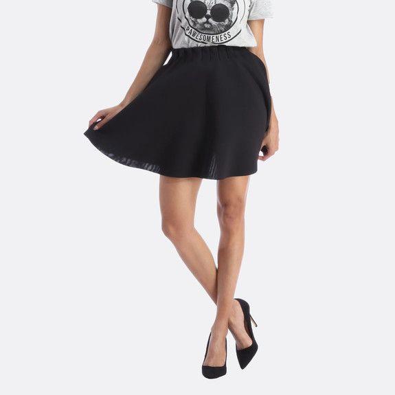 Vero Moda - Short Skater Skirt