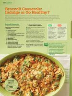 Broccoli Casserole: Indulge or Go Healthy? from Allrecipes, Feb/Mar 2016. Read it on the Texture app-unlimited access to 200+ top magazines.