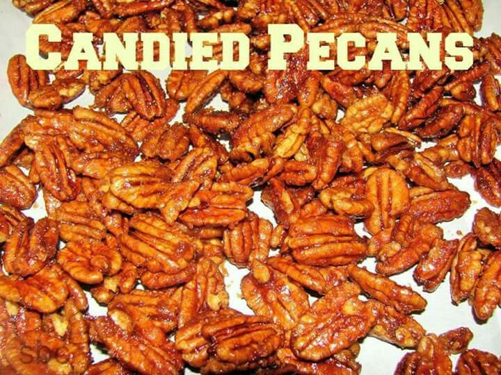 Candied peacans