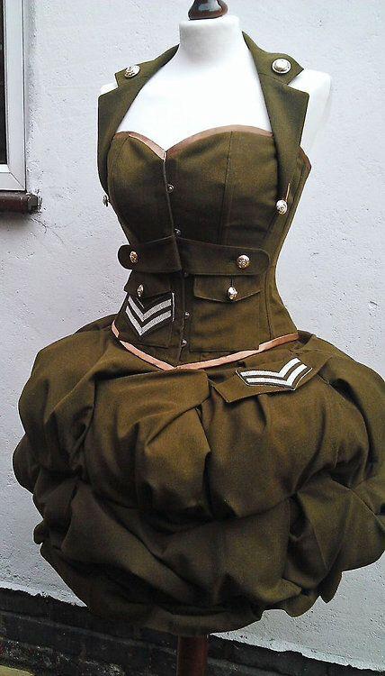 Great dieselpunk dress! #provestra