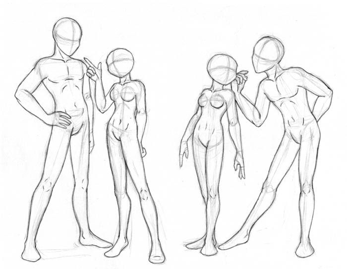 Pose practise by merrypaws.deviantart.com on @DeviantArt
