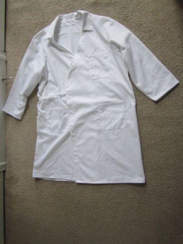 New Unisex White Lab Coat Size XS 2XL 4XL 6XL 7XL | eBay $12 free shipping