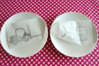 hilde@home: DIY: over de porseleinstift voor tekenklunzen ...