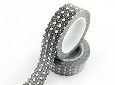 polka dot washi tape,black washi tape with dots.dot masking tape. e-mail: sale8@packingtape.cn