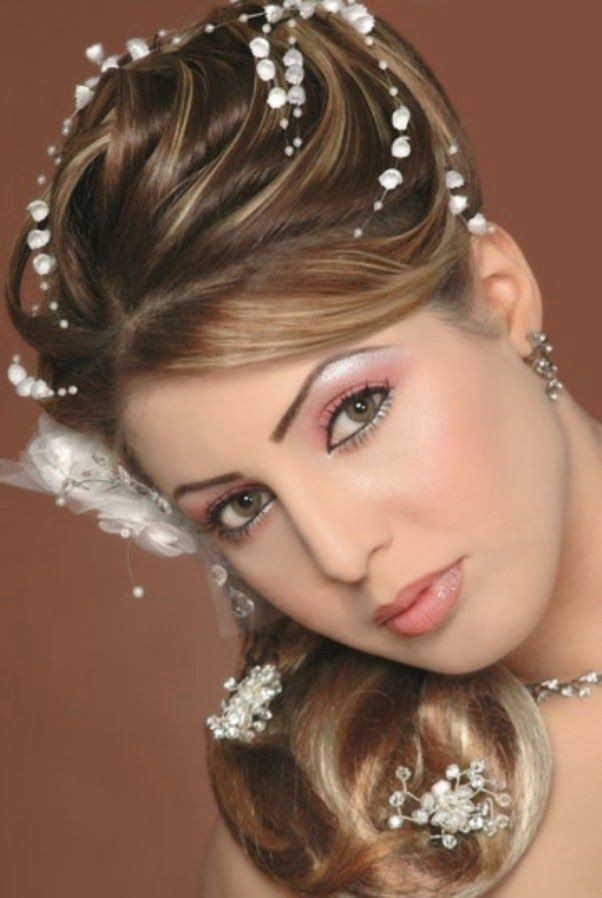 Indian And Pakistani Bridal Hairstyle 2014 6 602